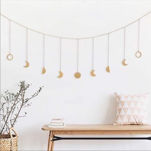 Other - 🎀 Moon Phase Garland with Chains Boho 🎀